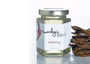 Jar of Barclays Riesling Wine Jelly